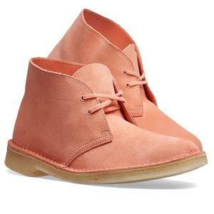 Clark's Originals Desert Boot Suede Pink